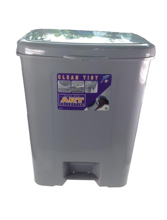首页 p-茶水间及电工用品 垃圾桶及用品 art #428 脚踏式 垃圾桶 45l
